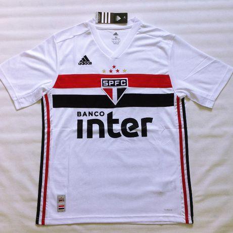 Camisa São Paulo 2019/2020 branca - 100% NOVA - S L