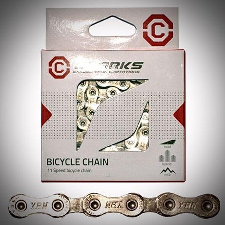 Łańcuch Clark's YBN C11 Shimano Campagnolo SRAM 11 biegów 116 kmc x11