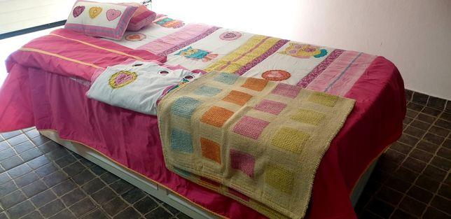 Edredão  colcha cama solteiro