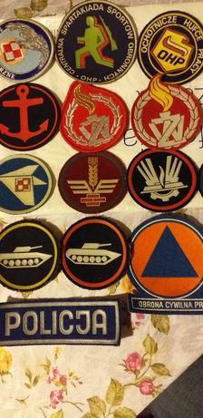 Naszywki wojskowe na rękaw
