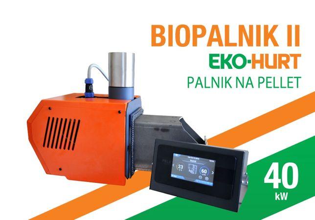 Palnik BIOPALNIK 40 kW palnik pelletowy PELLET podajnik Modernizacja