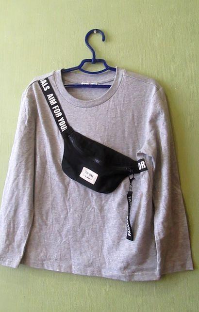 кофта футболка длинный рукав Sela рост 146 см, на 10-12 лет