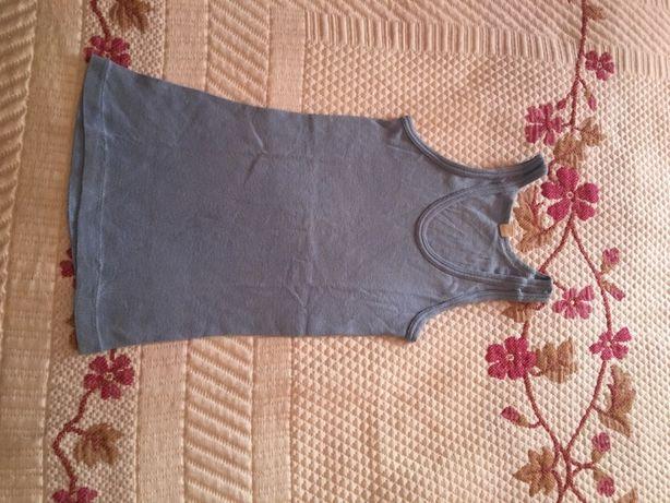 camisola de alças para criança