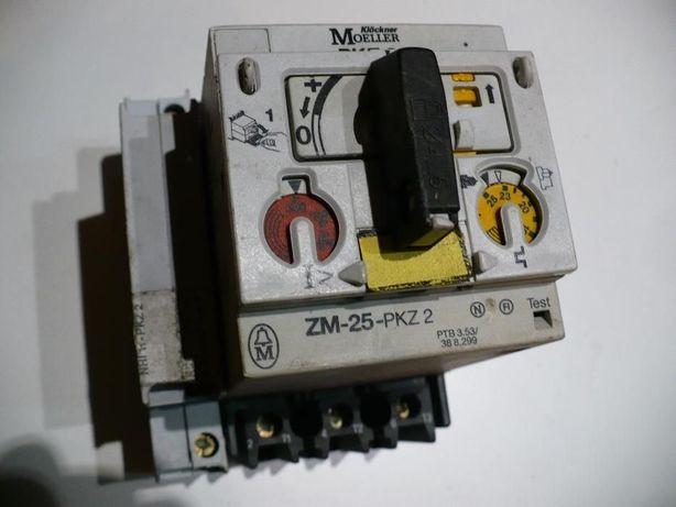 Samoczynny Wyłącznik Silnikowy stycznik Moeller Pkz2 ZM 25