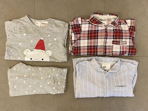 Komplet trzech piżamek H&M