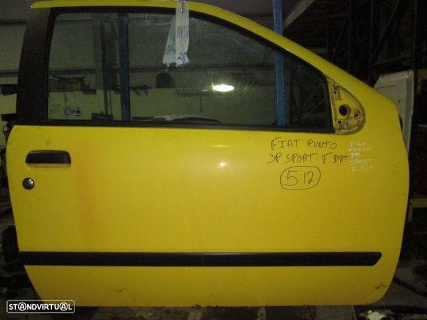 Porta REF512 FIAT / PUNTO SPORT / 1997 / AMARELA / FD / 3P /