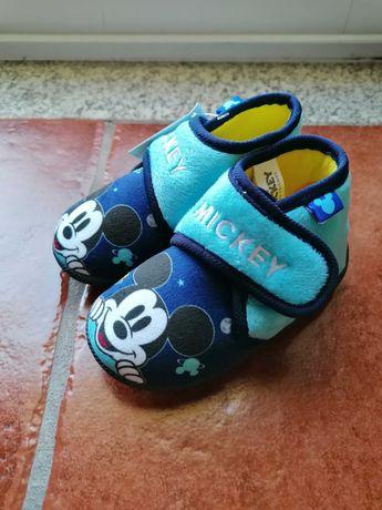 Pantufas azuis Mickey