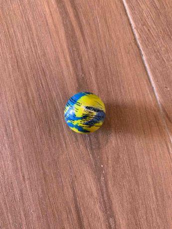 Bola Pinchona Amarela e Azul (selada, nova)