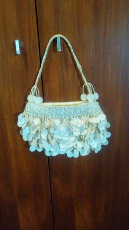 Bolsa elegante com lantejoulas - cerimónia