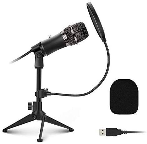 Microfone PC e microfone USB | Novo Selado
