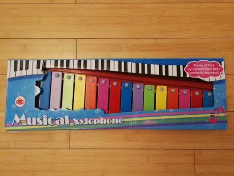 ksylofon 15 tonów / dzwonki / cymbałki