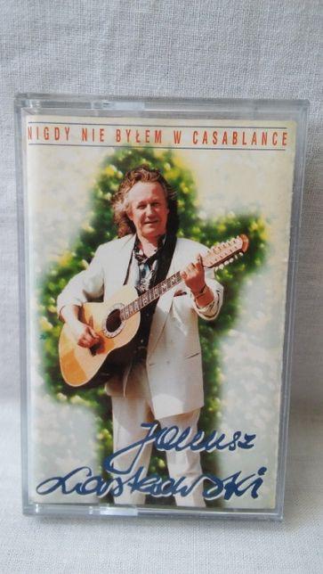 Kaseta magnetofonowa Janusz Laskowski Nigdy nie byłem w Casablance