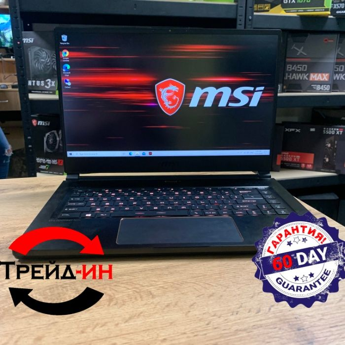 MSI Stealth Thin GS65 8SE (Игровой ноутбук, гарантия) CompX Киев - изображение 1