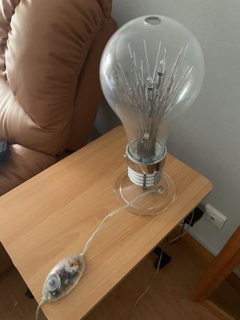 Candieiro de secretaria tipo lampada