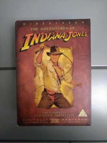 Indiana Jones - oryginalne DVD - zestaw