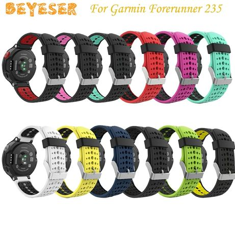 Силиконовые ремешки для часов garmin fenix 6x и forerunner 235