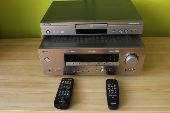 Amplituner Yamaha RX-V450 + DVD-S540 + Kolumny Eltax Universe 5.1