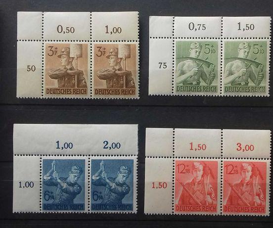 znaczki niemieckie DR Junacy czyste