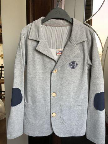 Пиджак трикотажный рост 140 см