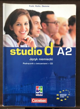 Studio d A2 - Podręcznik z ćwiczeniami +CD - Cornelsen