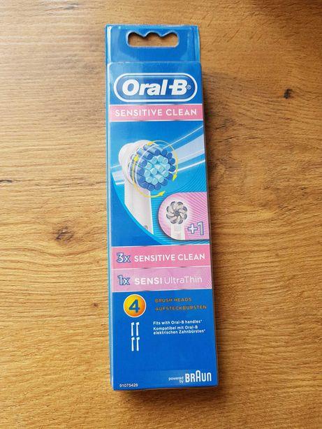 Oral-b końcowki 4 szt.ORGINAŁ