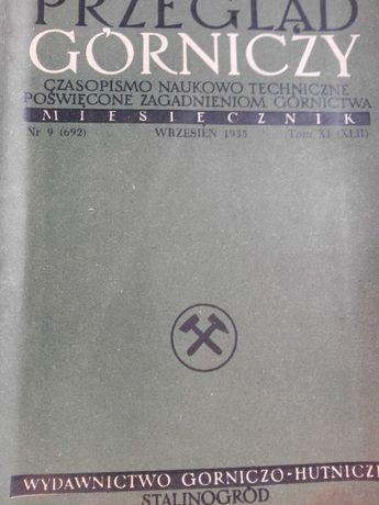 Czasopisma Górnicze 1955 r i inne