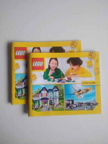 NOWY katalog LEGO 2021 styczeń - maj, klocki, ninjago friends duplo