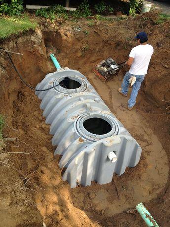 Zakładanie szamba, Przydomowe oczyszczalnie ścieków, kanalizacja