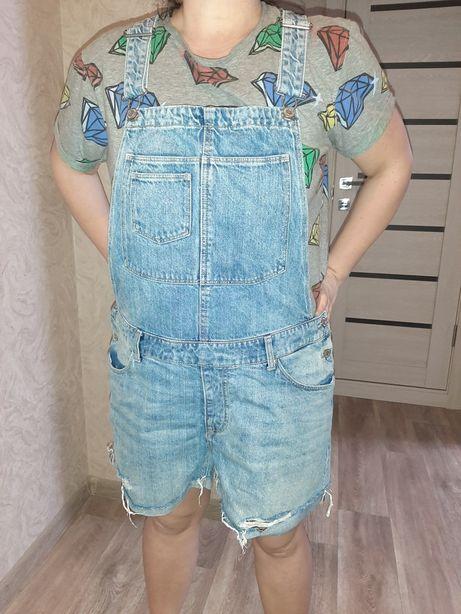 Летний джинсовый комбинезон H&M!
