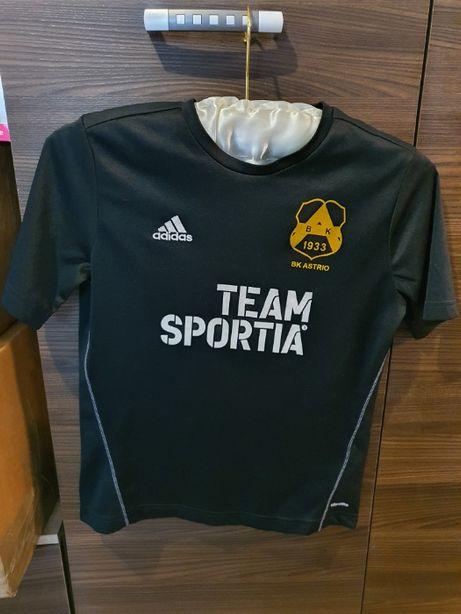 koszulka T Shirt Adidas ORYGINALNA Team Sportia Rozmiar S/M TANIO