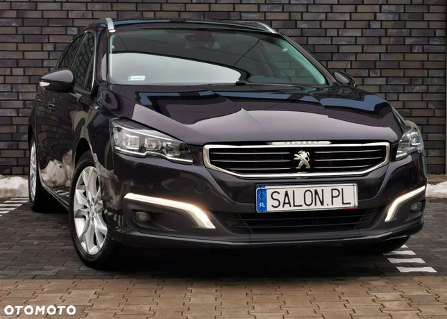 Peugeot 508 Allure 150KM/Full Led/Panorama/Skóra/Salon pl/ASO/fakt 23%