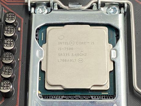 Procesor LGA 1151 Intel i5-7500 BOX z wentylatorem w 100% sprawny