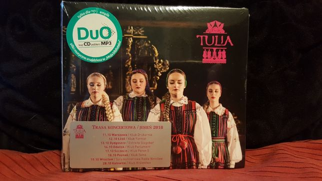 Tulia CD folia (+bonus tracks)