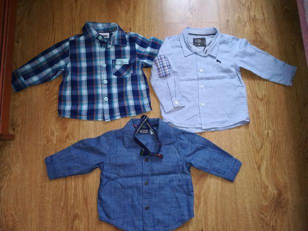 Paka ubrań dla chłopczyka 68