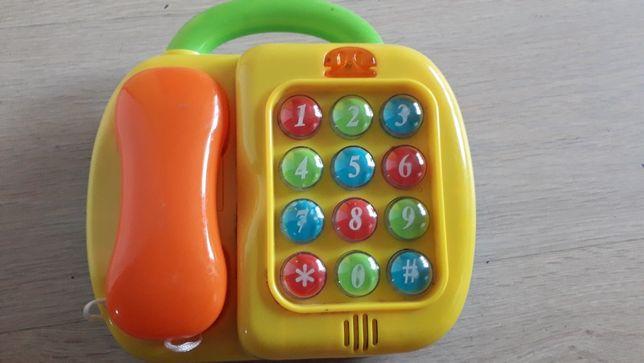 Tekefon zabawka muzyczna 2w1