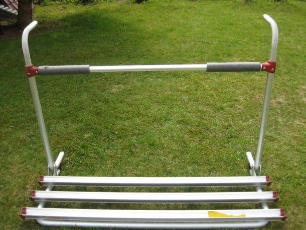 Bagażnik 3 rowery na tył Fiamma Nowa cena