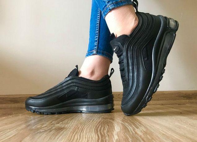 Nike Air Max 97. Rozmiar 38. Kolor czarny. Promocja