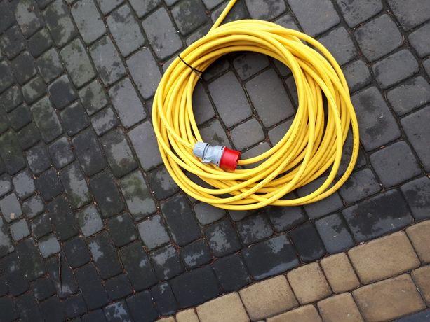 Przedłużacz 5x2,5 16A 60m kabel silikonowy