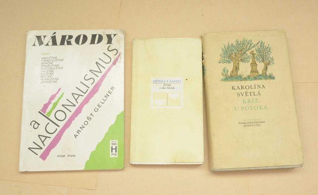 Книги чеською мовою - Světlá , Gellner , Ortega Y Gasset, чешский язык