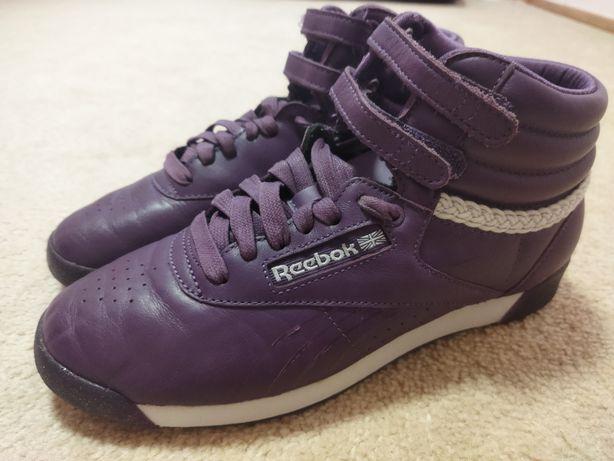 Кроссовки ботинки Reebok 37.5р 24см кожа