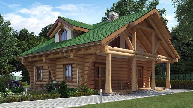 Строительство срубов деревянных домов и бань по Канадской технологии