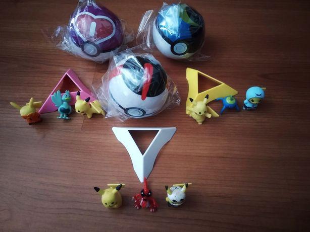 Bolas Pokémon ( pokébola )  + pokemon últimas originais takara tomy