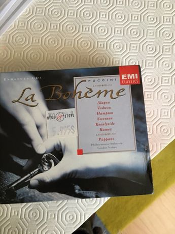 CDS - Coletânea La Boheme CD- 3 CDs