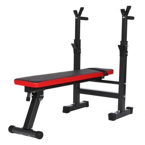 ławeczka treningowa do ćwiczen pod sztangę ławka regulowana