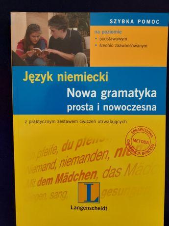 Język niemiecki Nowa gramatyka Langenscheidt