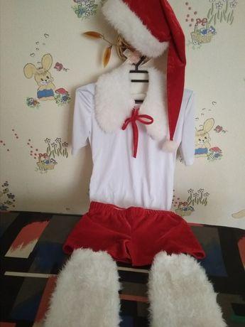 Новогодний, карнавальный костюм, снеговика, санты
