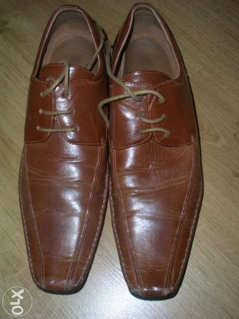 Buty męskie brązowe rozmiar 43