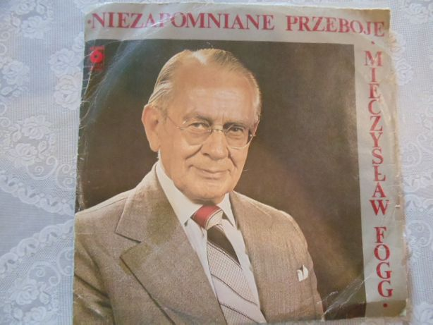 """Plyta winylowa """"Niezpomniane Przeboje""""Mieczysława Fogga"""