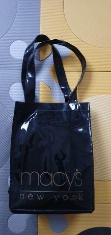 Macys - torebka - czarna - do ręki lub na ramię