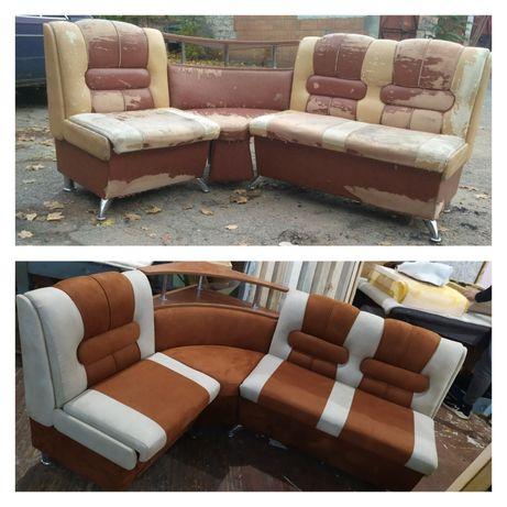 Обивка мягкой мебели. Ремонт диванов. Перетяжка матрасов.